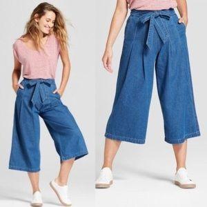 UNIVERSAL THREAD wide leg crop denim pants